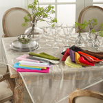 1212 tissue organza tablecloth Closeout