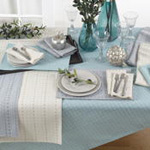 2136 stitched line placemat