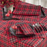 2669 highland holiday plaid tablecloths