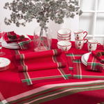 3365 tartan design tablecloths