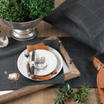 4418 plaid placemat