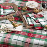 5002 plaid design holiday napkins
