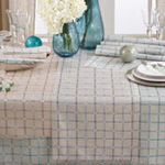 6070 checkered tablecloth