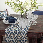 7215 indigo ikat pillow