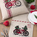 7757 holiday bicycle runner