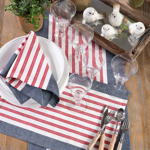 8027 striped placemat