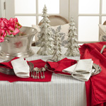8574 stitched design tablecloths