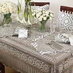 869 Crochet Lace Placemat Closeout