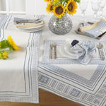 8766 hand block print placemat
