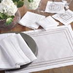 9001 hemstitched placemats