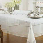 9029 embroidered lace tablecloth