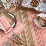 9745 stitched line placemat Closeout