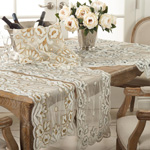 BD05 hand beaded design runner