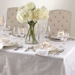 DM005 classic rose damask napkins