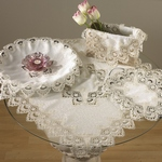 SD911 Lace Design Doily