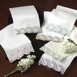709 scallop towels