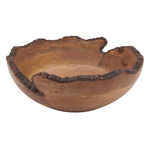 HA241 Live Edge Wooden Bowl