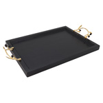 HA595 Wooden Tray With Olive Handles