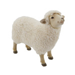 HA753 Resin Sheep with Fur
