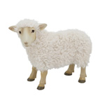 HA754 Resin Sheep with Fur