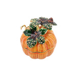 HA966 Bejeweled Punpkin Box
