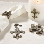 HA037 decorative fleur-de-lis box