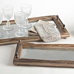 HA048 bellevue rustic trays