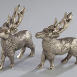 HA182 reindeer salt & pepper shakers