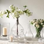 HA521 bubble glass vases