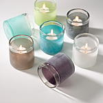 V101 seascape candle holders