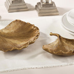 HA458 resin ginko leaf plate