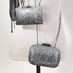 HB025 studded evening bag