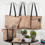 HB049 leather tote bags