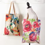 1649 floral shopping bag