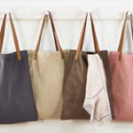 "HB187 corduroy shopping bag-14""x18"""