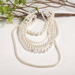 J120N pearl design necklace