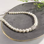 J126N pearl design necklace
