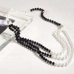 J180N pearl design necklace