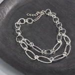 J421N linked chain necklace
