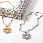 J542N star of david necklaces