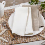 1753 Stonewashed Stitch Border Napkin