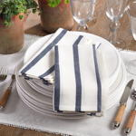 1834 striped napkin