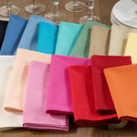 222 solid cotton napkin