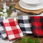 5026 buffalo plaid napkin