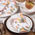 5050 fall leaf napkin