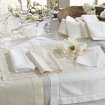 6100 hemstitched placemats