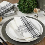6562 plaid napkin