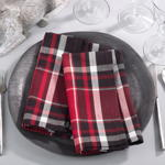 8052 plaid napkin