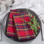8054 plaid napkin