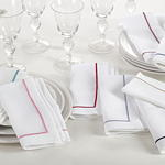 810 line design napkins